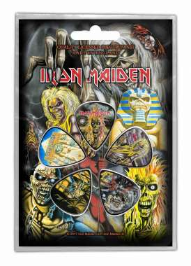 Iron Maiden Early Albums - Plektrasetti 5kpl