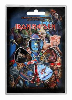 Iron Maiden Later Albums - Plektrasetti 5kpl