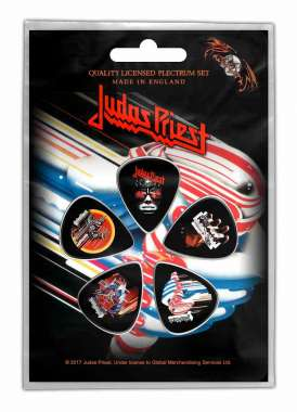 Judas Priest Turbo - Plektrasetti 5kpl