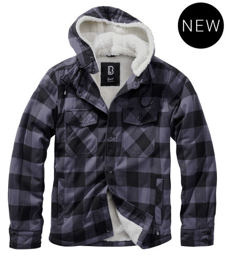 Brandit hooded lumberjacket