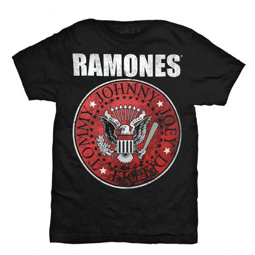 Ramones Red Fill seal - T-paita