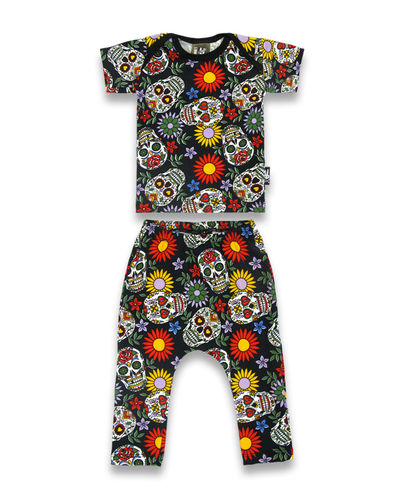Six Bunnies Sugar Skull - Pyjama