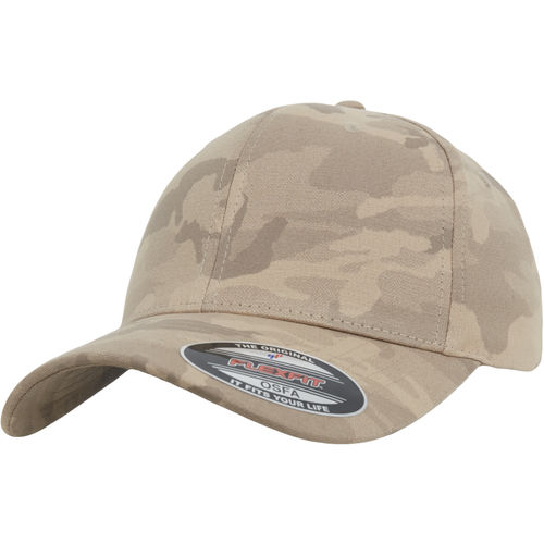 Flexfit Light Camo - Lippis, dark beige camo