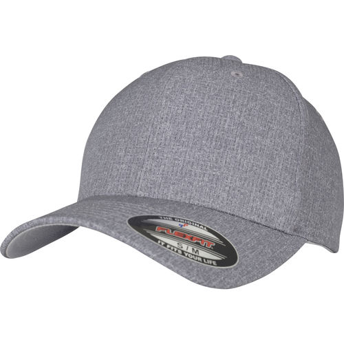 Flexfit Poly Air - Lippis, grey melange