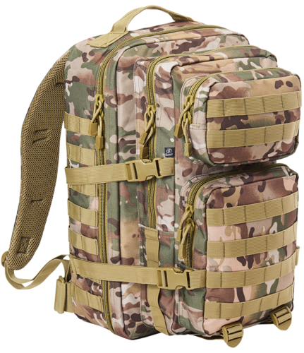 Brandit US Cooper Large - reppu, tactical camo