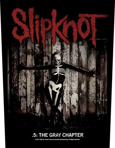 Slipknot The Gray Chapter - Kangasmerkki, selkä