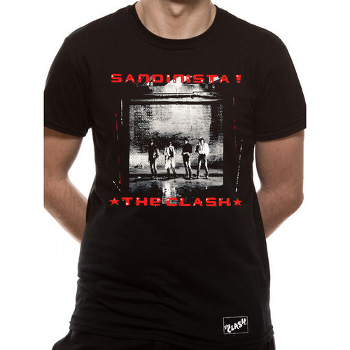 The Clash Sandinista - T-paita