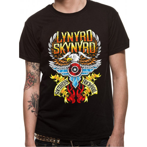 Lynyrd Skynyrd South N Rock and Roll - T-paita