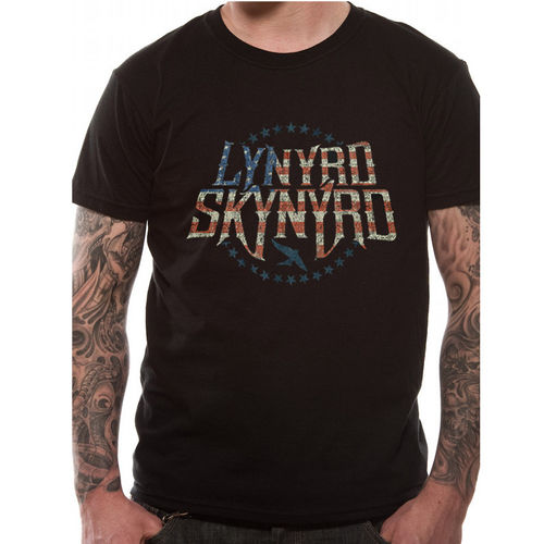 Lynyrd Skynyrd Stars and Stripes - T-paita
