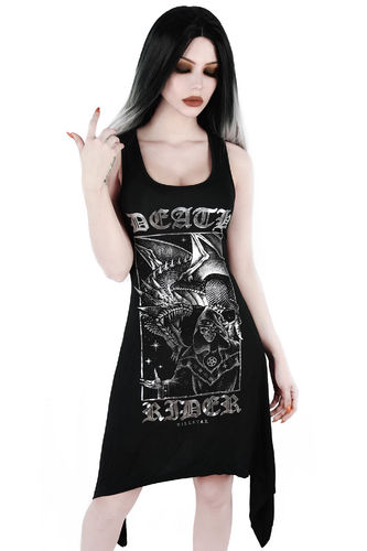 Killstar Death Rider Lace-Up - Tunika