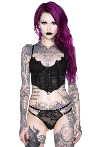 Killstar fang bustier