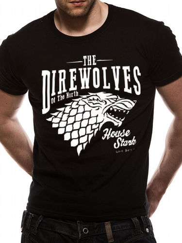 Game Of Thrones Direwolves - T-paita