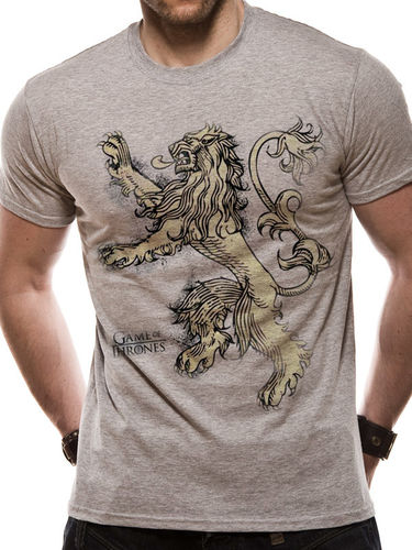 Game Of Thrones - Lannister Lion - T-paita