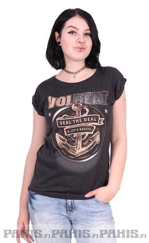 Volbeat Seal The Deal - naisten t-paita
