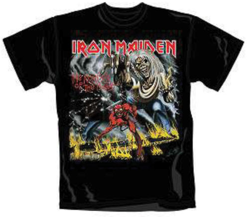 Iron Maiden The Number Of The Beast - T-paita