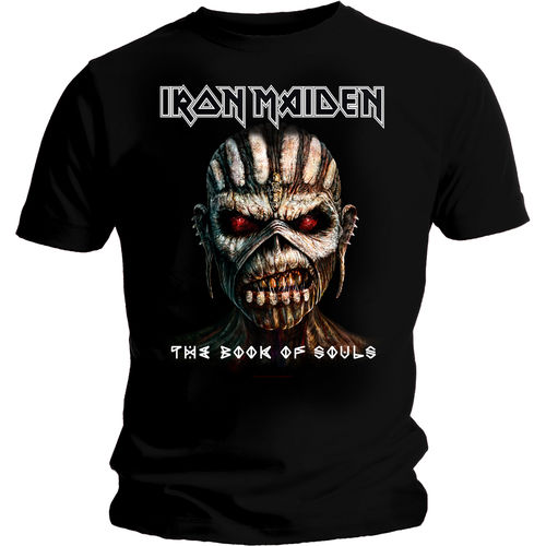 Iron Maiden Book Of Souls - T-paita