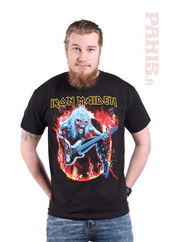 Iron Maiden Fear Live Flames - T-paita