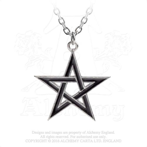Alchemy Gothic Black Star - Kaulakoru