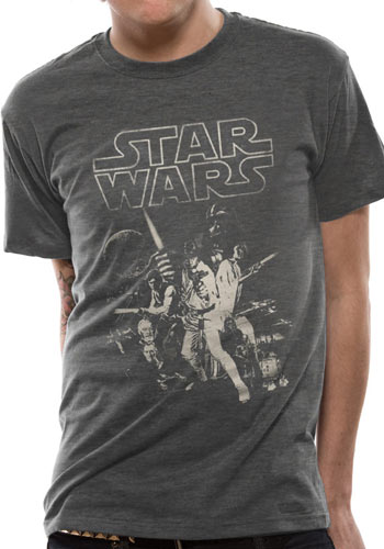 Star Wars A New Hope - T-paita