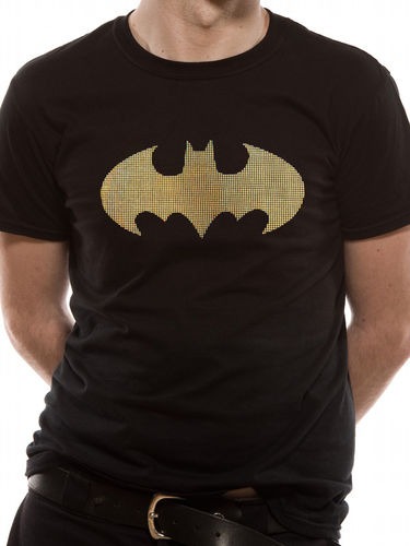 Batman 3 Colour Dots - T-paita