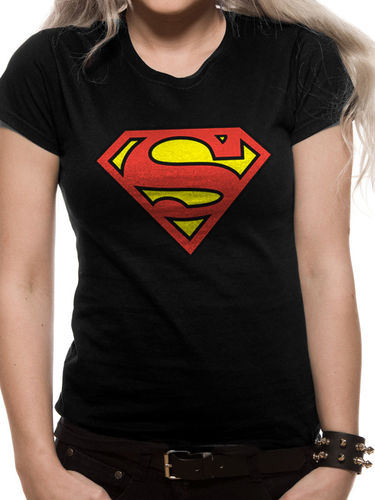Superman Logo - Lady Fit  T-paita