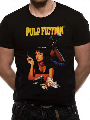 Pulp Fiction Uma - T-paita