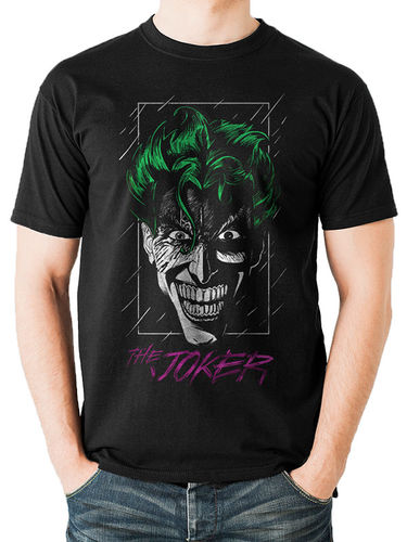 Joker Colour Outline - T-paita