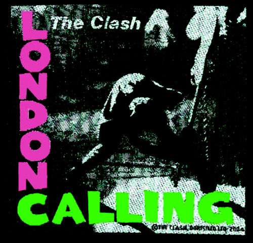 The Clash Londong Calling - Kangasmerkki