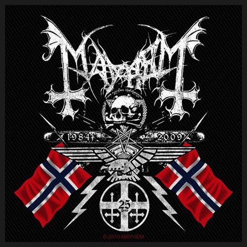 Mayhem Goat Of Arms - Kangasmerkki
