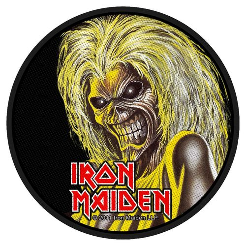 Iron Maiden Killers Face - Kangasmerkki