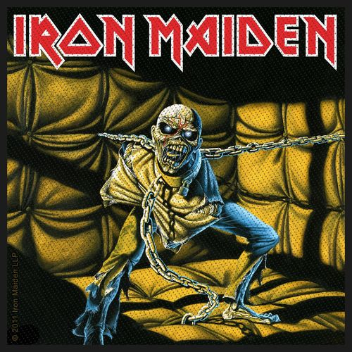 Iron Maiden Piece Of Mind - Kangasmerkki