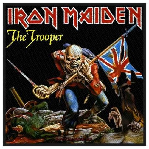 Iron Maiden The Trooper - Kangasmerkki