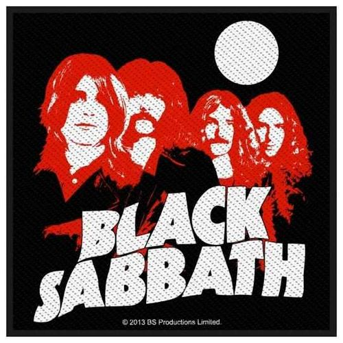 Black Sabbath Red Portraits - Kangasmerkki