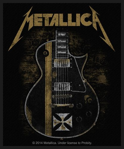 Metallica Hetfield Guitar - Kangasmerkki