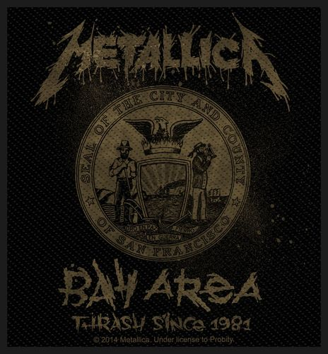 Metallica Bay Area Trash - Kangasmerkki
