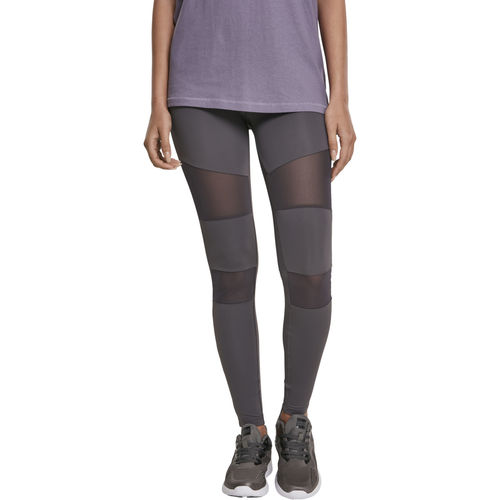 Urban Classics Tech Mesh - Legginsit, dark grey