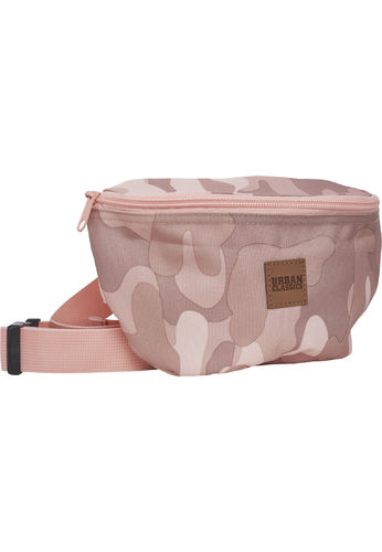 Urban Classics Camo Hip Bag - Vyölaukku, rose camo