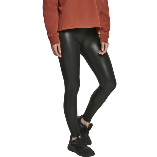 Urban Classics Faux Leather - Legginsit