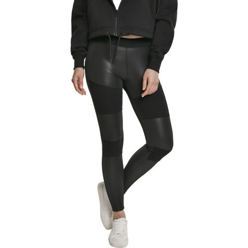 Urban Classics Fake Leather Tech - Legginsit