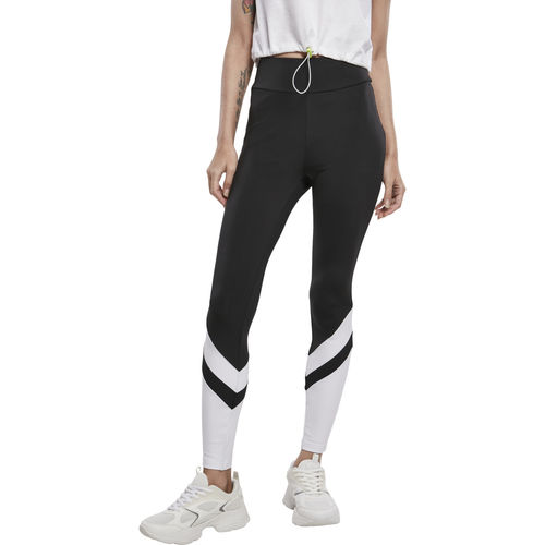 Urban Classics Arrow High Waist - legginsit