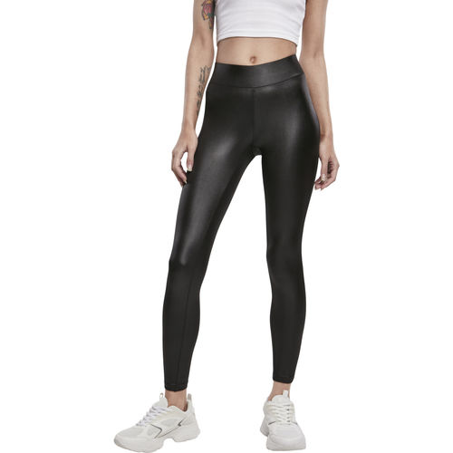 Urban Classics Imitation Leather - legginsit