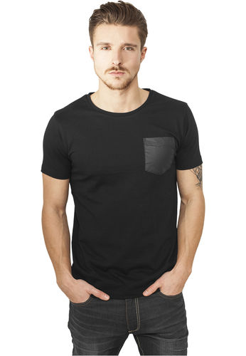 Urban Classics Imitation Pocket - T-paita