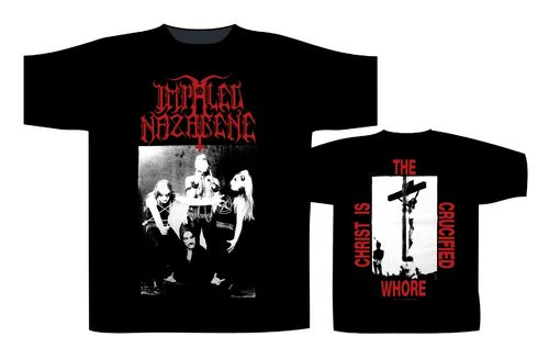Impaled Nazarene Crucified Whore - T-paita