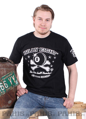 Billy Eight Hate Ball - T-Paita