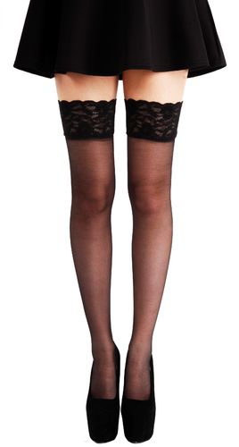 Lace Top Hold Ups - Sukat