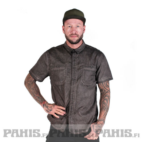 Brandit Roadstar Heavy Washed - kauluspaita, brown