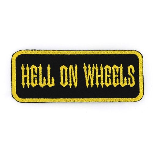 Hell on wheels - Kangasmerkki