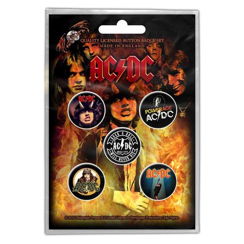 AC/DC highway to hell pinssit
