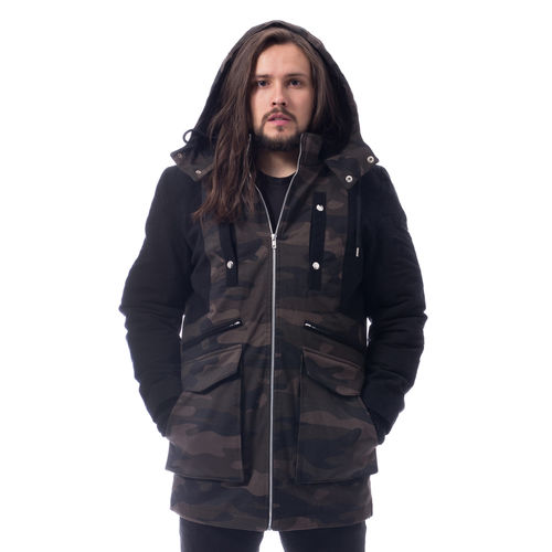 Poizen Industries Knockout Parka - Talvitakki, camo