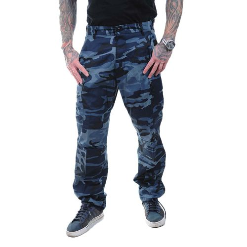 Rothco Color Camo BDU - Reisitaskuhousut, midnight blue